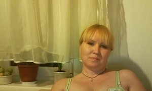 Kewd Russian Mature Whore Shows Her Big Boobs On Webcam