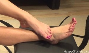 Mommy barefoot foot fetish promo video