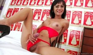 Asian Tranny Is Ready To Get Her Ass Filled With Your Cock