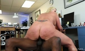 ass lovers, bbc, black, blonde, blowjob, busty