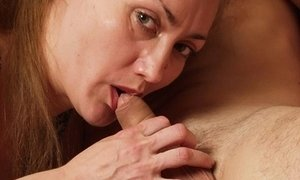 Mature slut riding her mouth and pussy up and down longhaired macho s firm cock     Pics