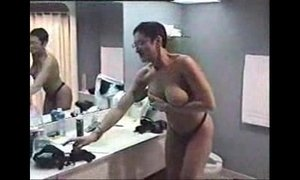 My gorgeous Mother gives me an horny blowjob at the hotel