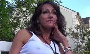 La Cochonne - French mature squirts during ass and pussy fuck (French Porn)