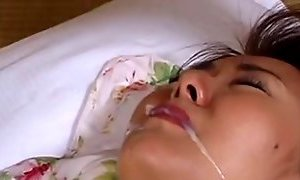 Japanese wife Maria Yuuki does her duty